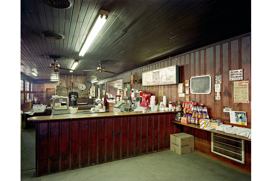 Fresh Air Barbeque. Hwy 42, Jackson, GA 1998 by Jim Dow