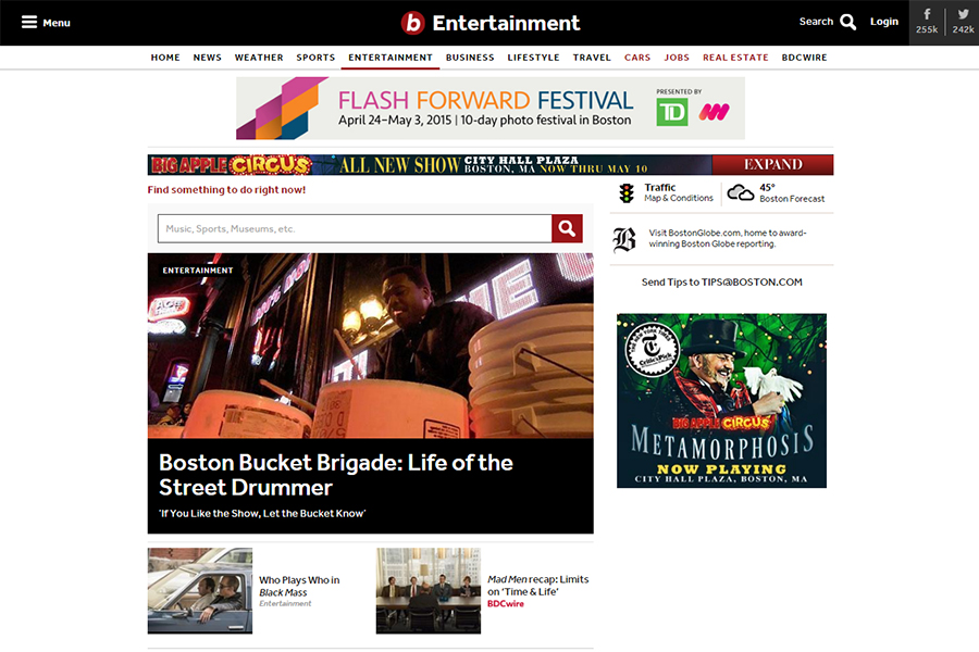 Boston.com Entertainment