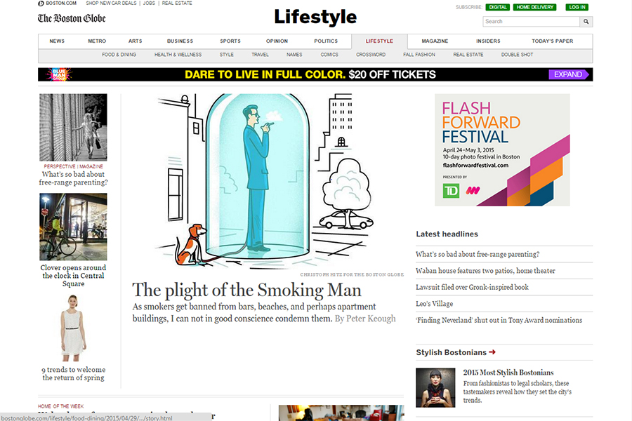 The Boston Globe - Lifestyle