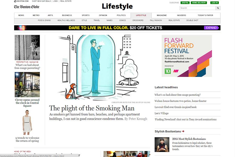 The Boston Globe - Lifestyle