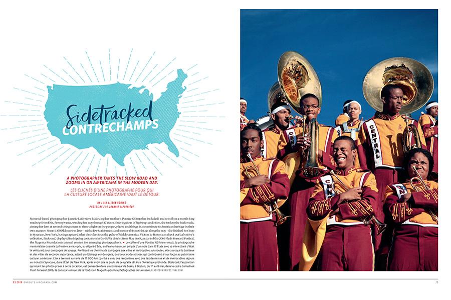 Air Canada's enRoute Magazine