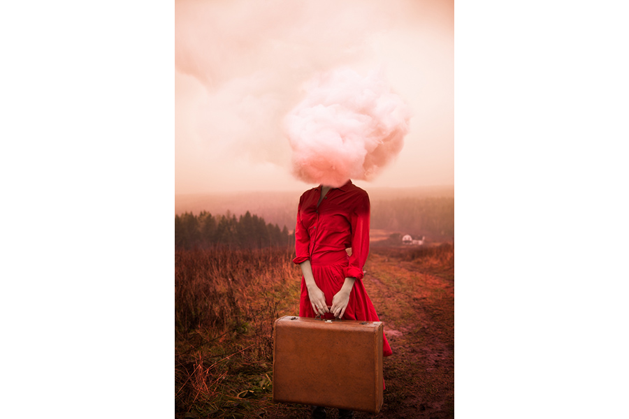 Head in Clouds (2012) from the series Destinations by Alicia Savage