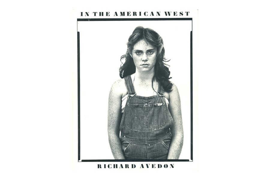 """Richard Avedon: In The American West"" (Harry N. Abrams). Designed by Elizabeth Avedon."