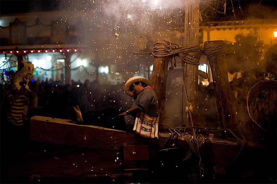 Fiesta, Michoacán, Mexico (2012) by Brett Gundlock