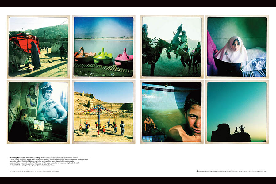 Photos by Benjamin Lowy/Getty, published in The New York Times Magazine (October 23, 2011)