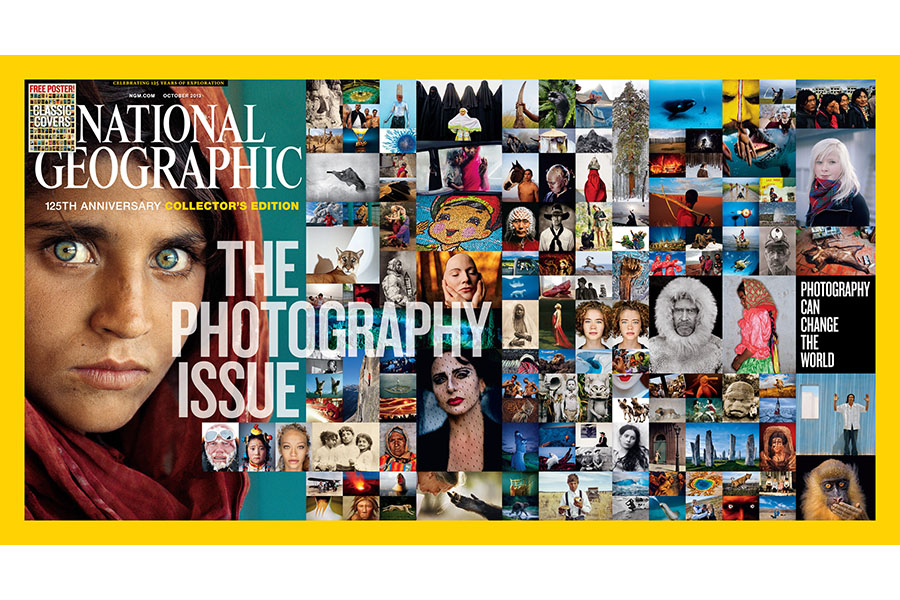 National Geographic Magazine, Full Spread (October 2013)
