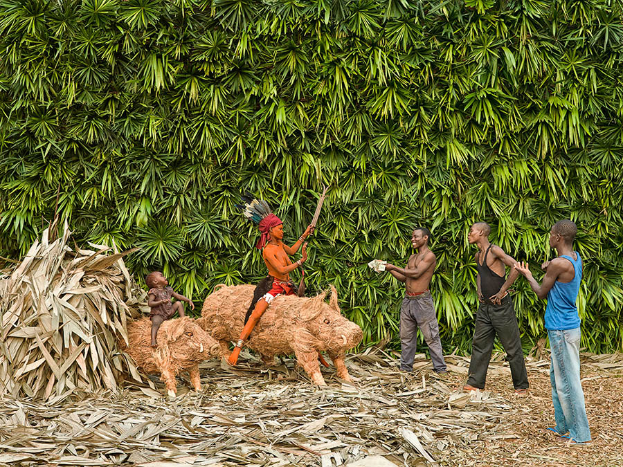 Walé Epanza Makita, honour, prestige and power by Patrick Willocq