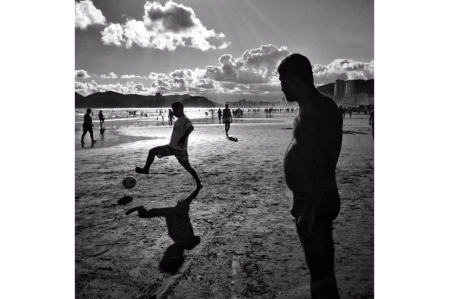Soccer (Santos, Brazil) by David Guttenfelder/Associated Press