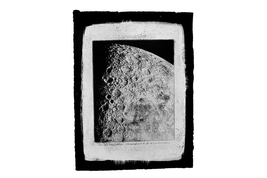 Figure 66, Lunar Craters, 2013 by Jesseca Ferguson