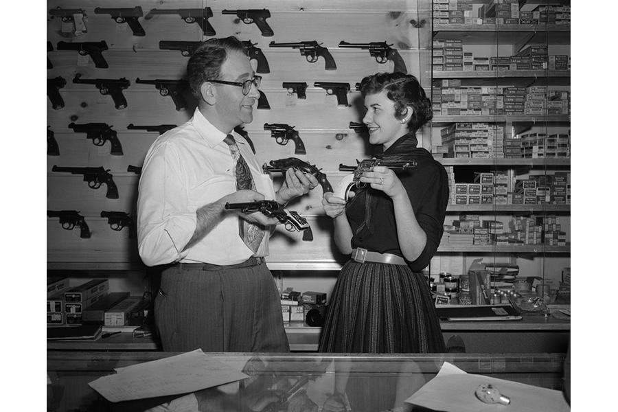 Antique Gun Traders, Chicago (from the series Great Prosperity), 1954 by Brian Ulrich