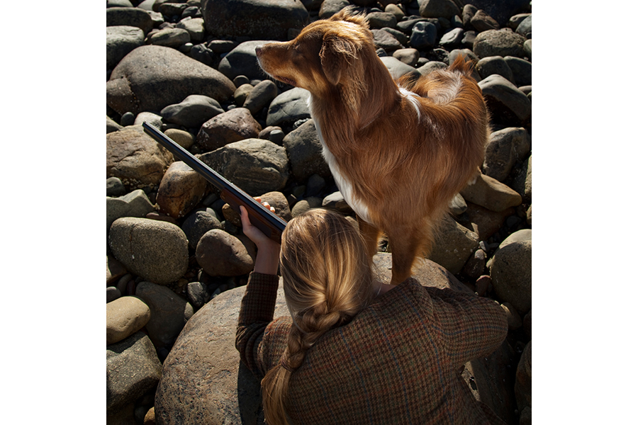 The Duck Hunt, Annemarie and Moose, Lincolnville, Maine, 2010 by Cig Harvey