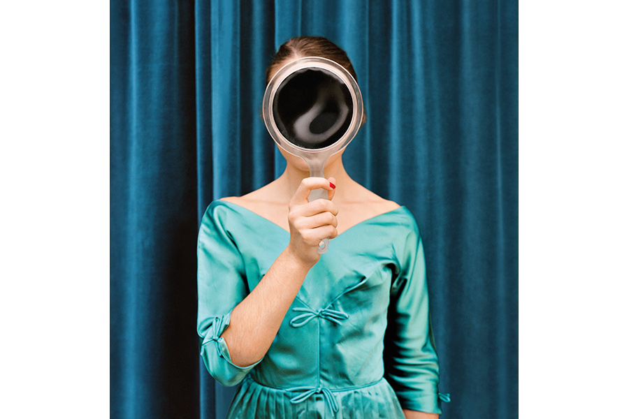 Cleo with a Mirror by Aline Smithson