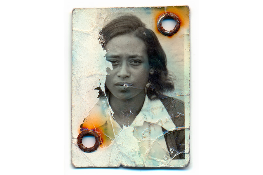 Photograph of Hanna Mesfin's Mother (d. 1996); 2008 by Eric Gottesman