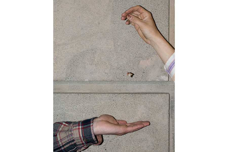 Untitled (Clancy's Thumb Nail), 2015 from the series No Limit on the Worlds by Lindsay Metivier